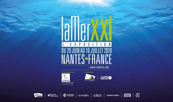 Conférence à l'expo La Mer XXL, Nantes